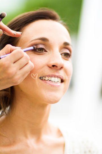 Préparatifs makeup