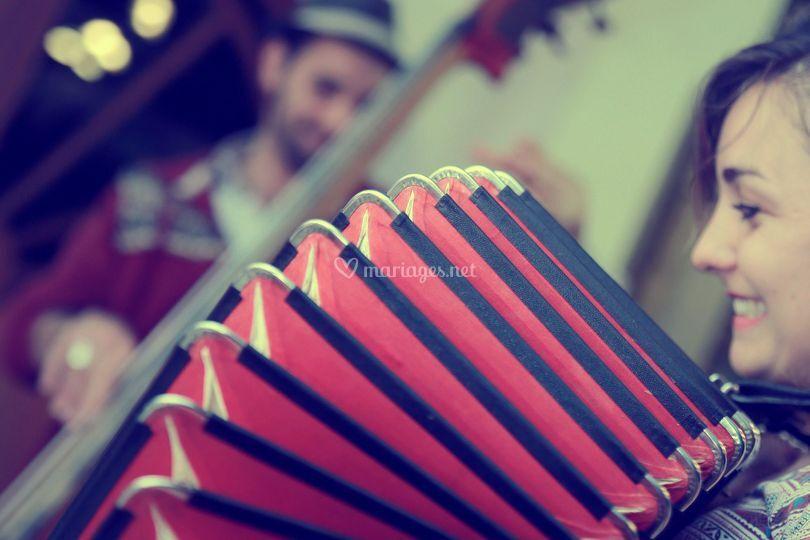 Chanson accordéon/contrebasse