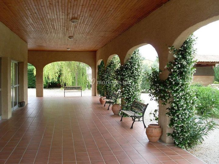 Salons de Bagatelle terrasse