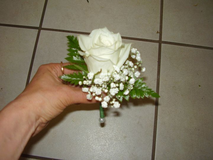 Boutonniere simple