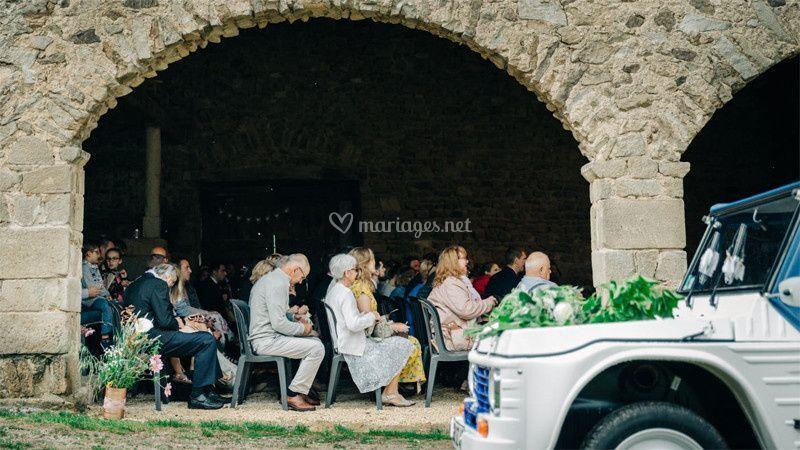 Ceremonie laique couverte