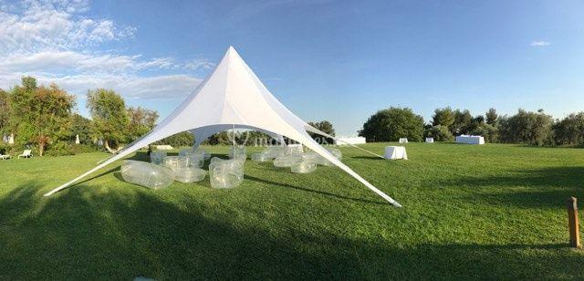 Tente atlas + mobilier gonflable