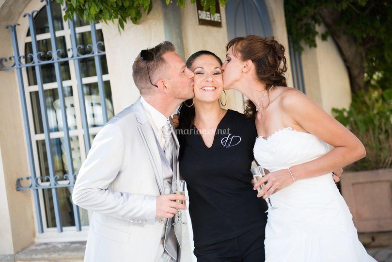 Bisous wedding