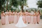 Photo de groupe brides