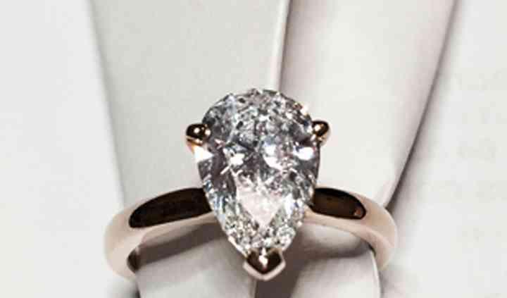 Diamant poire 2 carats