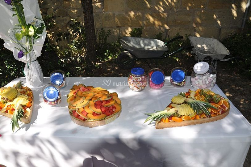 Buffet fruits