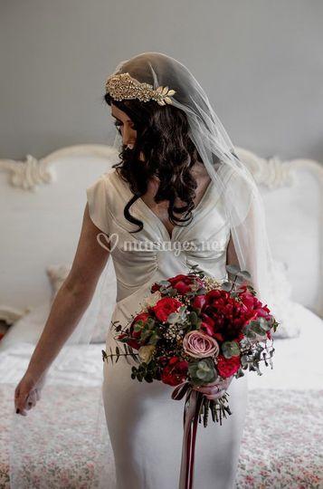Bouquet de mariée peps