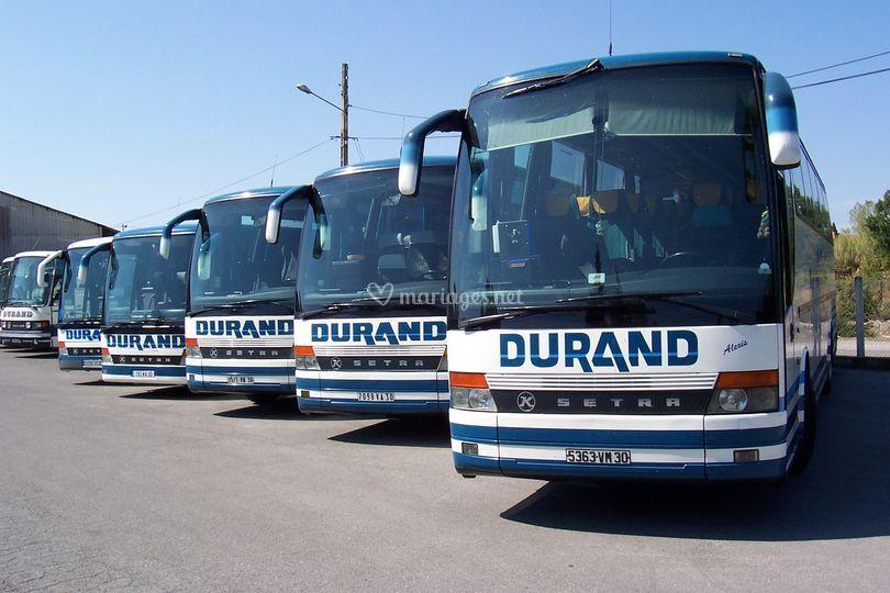 Flotte autocars