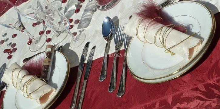 Table, présentation soignée