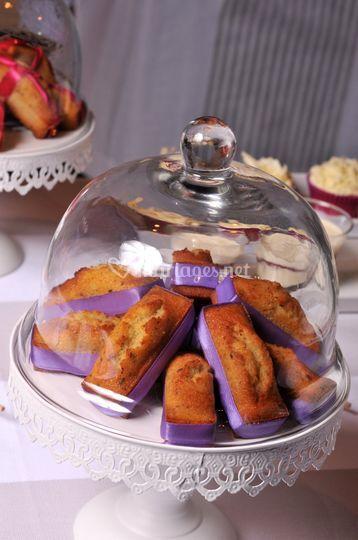 Détails Sweet Table Violette