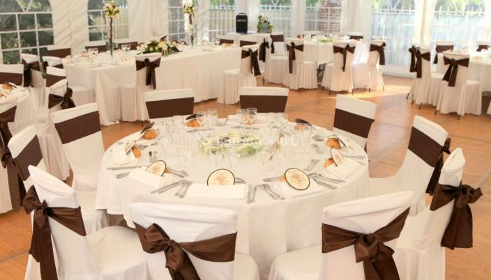 Décoration des tables