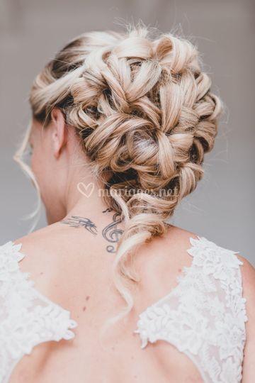 Photo coiffure mariage