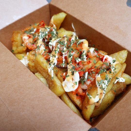 Seoul Kimchi Fries