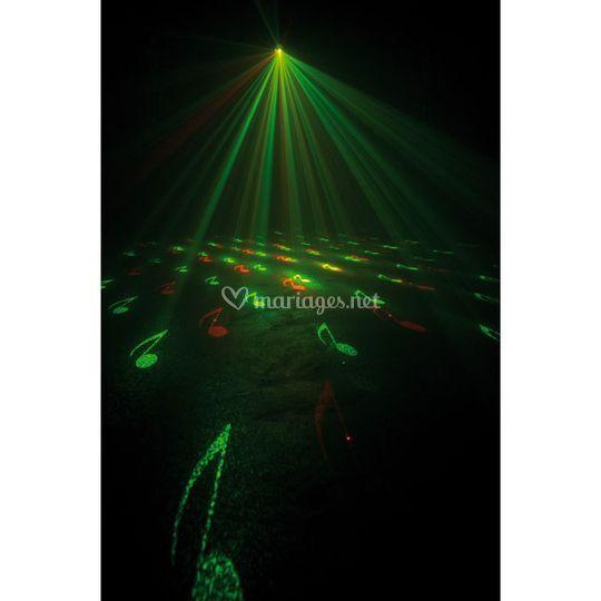 Laser micro Gobo