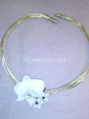 Fleurs mariage bracelet