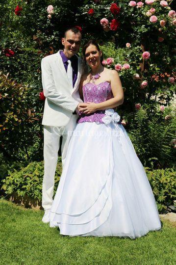 Nos mariée le jour J