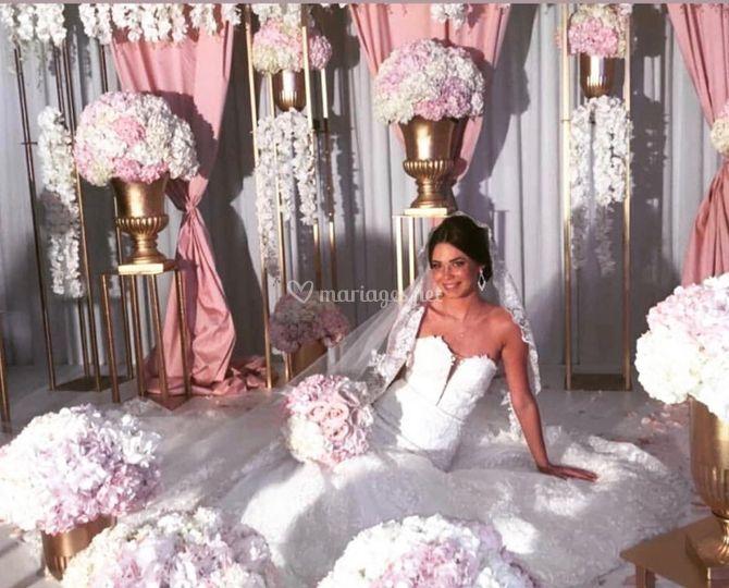 Nos mariée dans leur robe