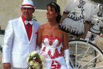 Robe de mariée couluer