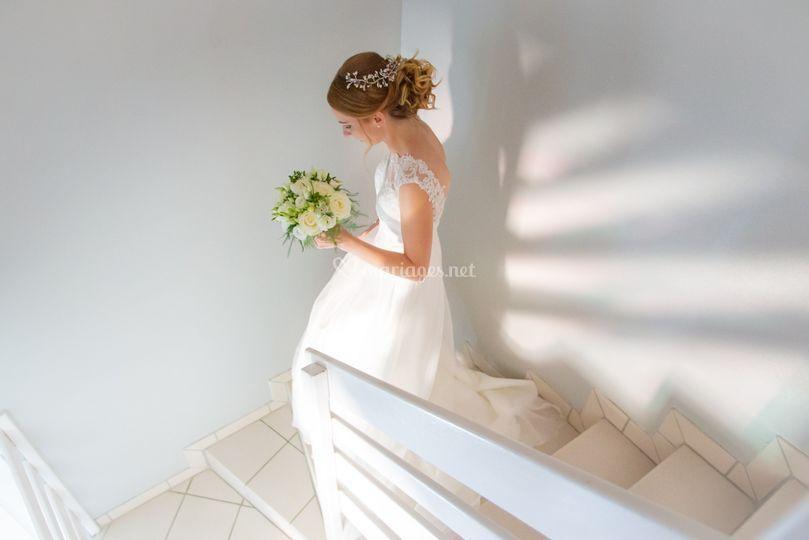 La mariée s'en va