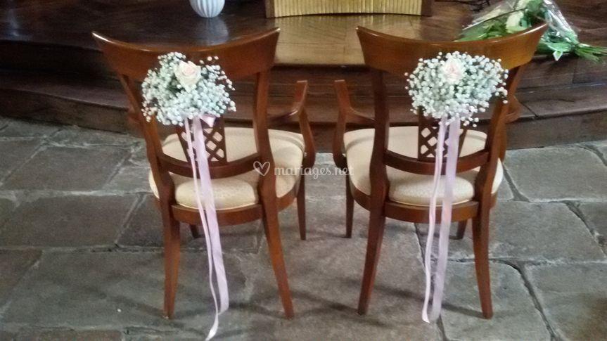 Dos de chaises