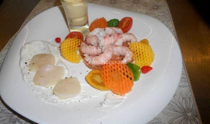 Délicieuses crevettes