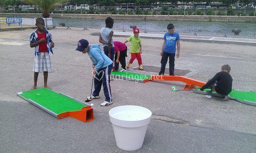 Artistes à l´affiche mini golf