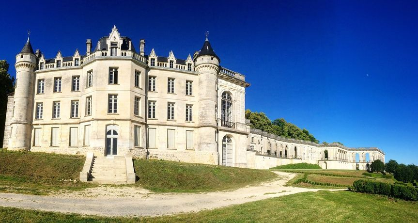 Mariage pittoresque au Château