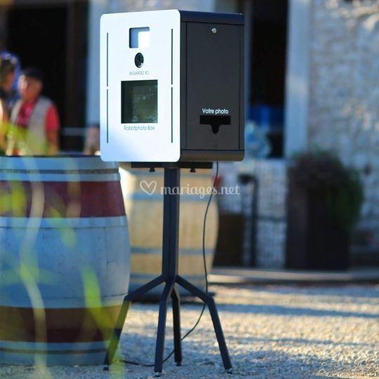 Robot photo à emporter