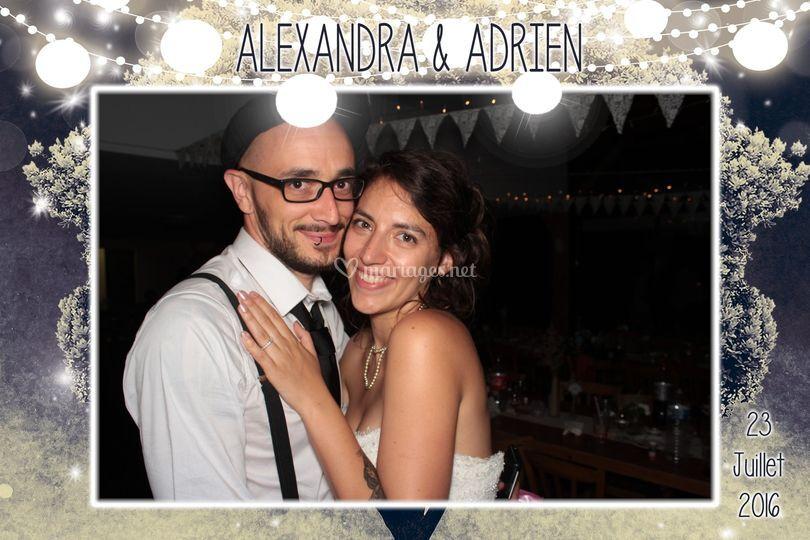 Mariage Alexandra et Adrien