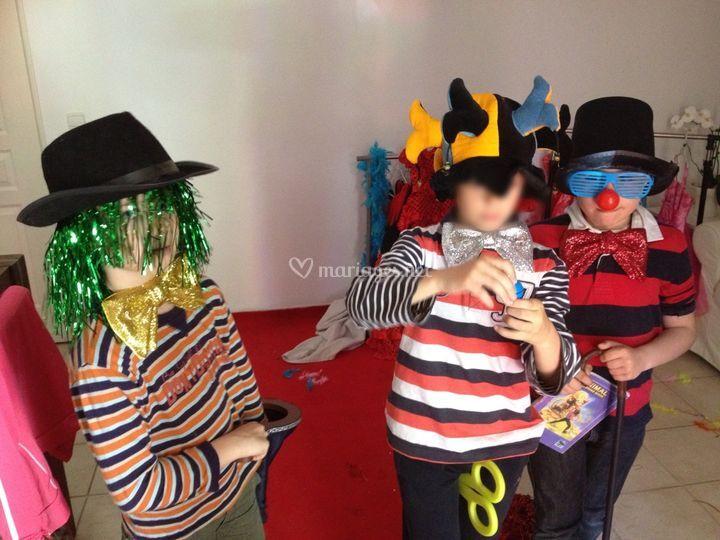 Le spectacle des clowns