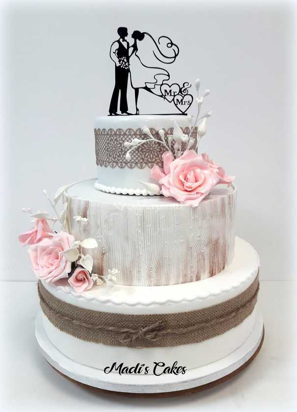 Wedding Cake Champetre De Madi S Cakes Photo 4