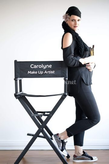 Carolyne, maquilleuse