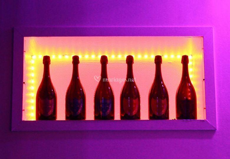 Belle cave à champagnes