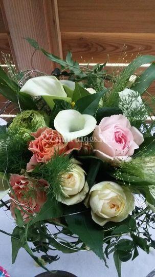 Bouquet champêtre ,naturel