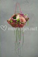 Panier floral