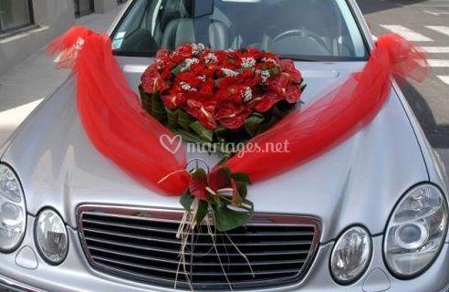 Claude fleuriste - Fleuriste decoration voiture mariage ...