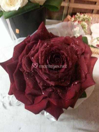 Bouquet de mariée rose