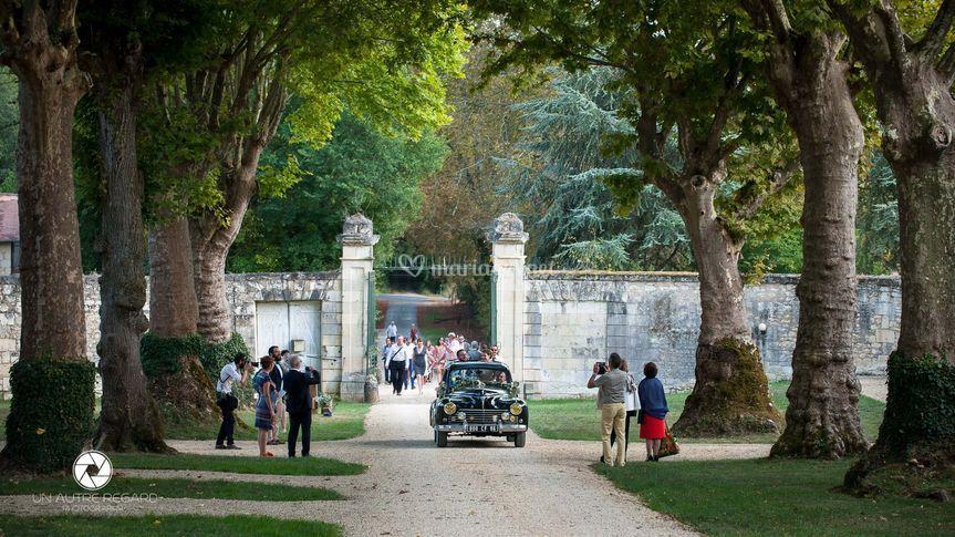 Jour de mariage au Château