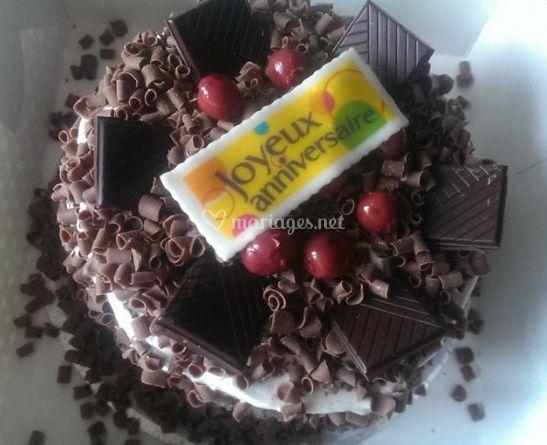 Gâteau chocolaté