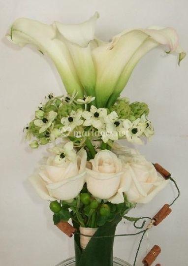 Bouquet rond revisité