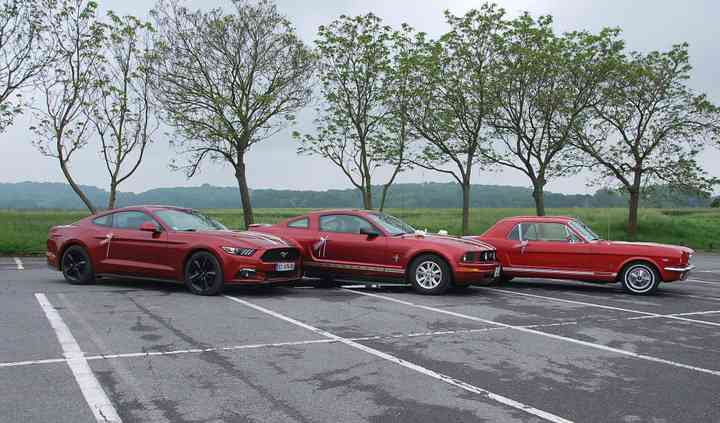 Location Ford Mustang