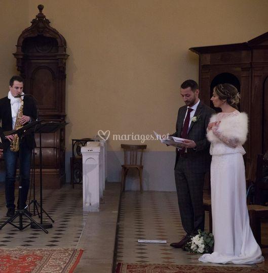 Mariage de F&C
