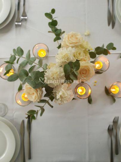 Décoration table invité