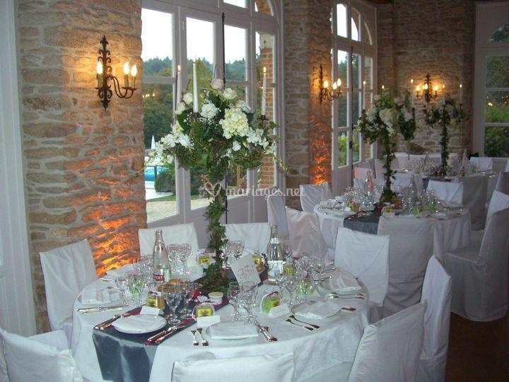 Locguénolé table mariage