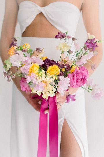 Bouquet mariée Fineart
