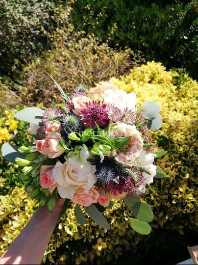 """Bouquet """" bohème chic"""""""