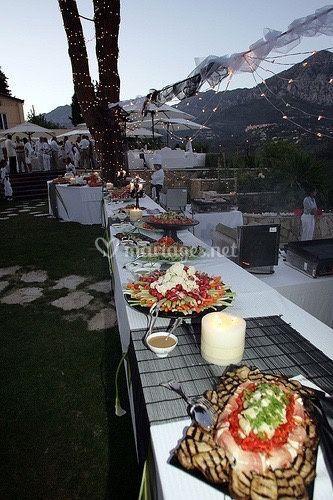 Buffet salades d'été