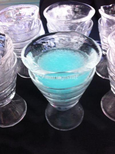 Ice bar à vodka