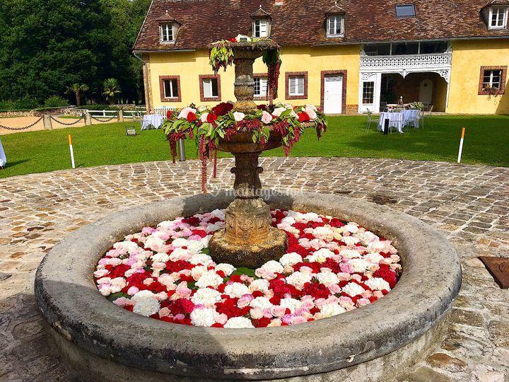La fontaine à double vasque