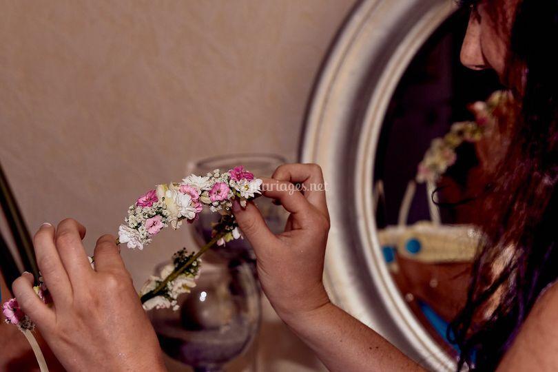 Preparatifs mariée